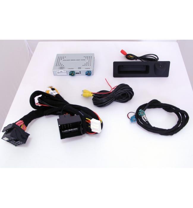 Sistem camera marsarier maner portbagaj Audi A3/ A4/ A5/ A6/ Q3/ Q5/Q7 + interfata
