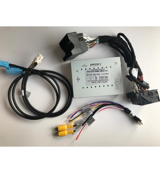 Sistem camera marsarier HD Volvo S60/ V60/ V40/ XC60/ S80L 2013-2017 + interfata