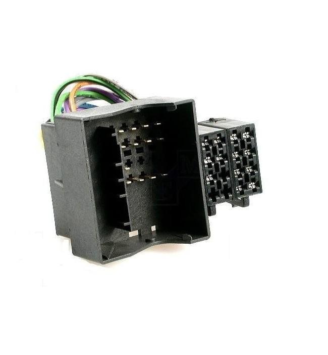 Conector adaptor de la ISO pentru BMW, Land Rover, Rover