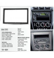 Kit rama 2DIN VW Golf/Passat/Lupo/Bora