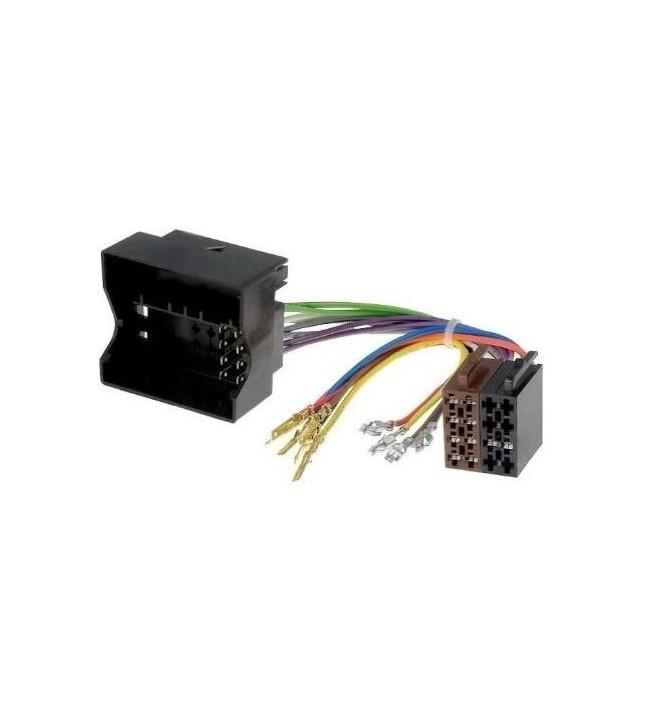 Conector adaptor de la ISO pentru Audi, Seat, Skoda, VW