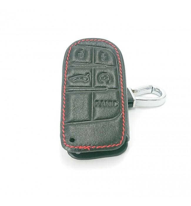 Husa din piele pentru cheie Dodge Ram 1500 Journey Charger Dart Challenger Durango