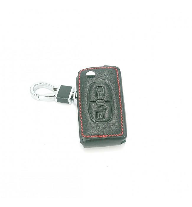 Husa din piele pentru cheie Citroen C4 C5 C6
