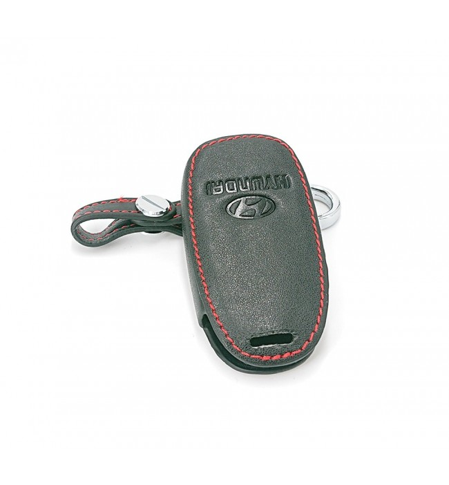 Husa din piele pentru cheie Hyundai i30 Ix35 Solaris Azera Elantra Grandeur Ig Accent Santa Fe Verna