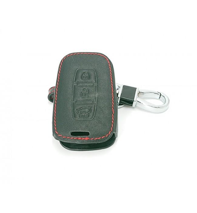 Husa din piele pentru cheie Hyundai I30 IX45 IX35 Sonata Tucson Santa Fe