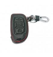 Husa din piele pentru cheie Hyundai IX30 IX35 IX20 Tucson Elantra Verna Sonata Smart Start