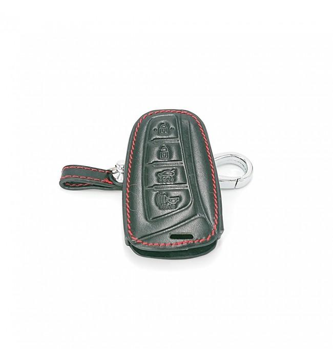 Husa din piele pentru cheie Hyundai Solaris Accent Elantra ix35 ix45 Santa Fe