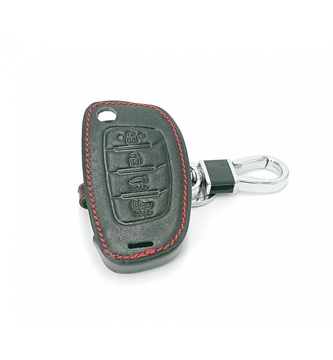 Husa din piele pentru cheie Hyundai I40 Tucson Elantra Accent