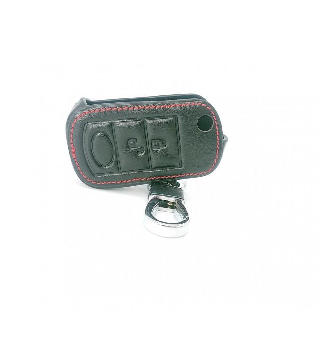 Husa din piele pentru cheie LAND ROVER Range Rover Sport LR3 Discovery