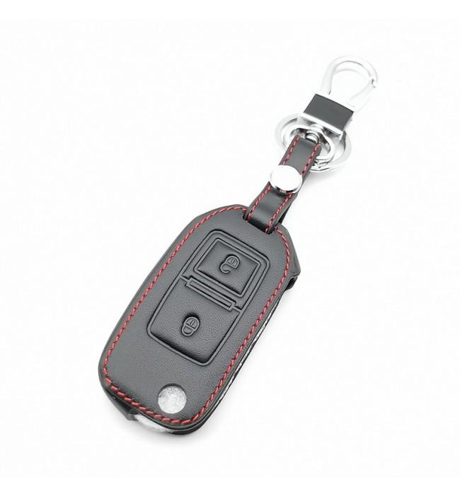 Husa din piele pentru cheie Volkswagen VW Amarok Polo Golf Mk4 Mk5 Bora Jetta