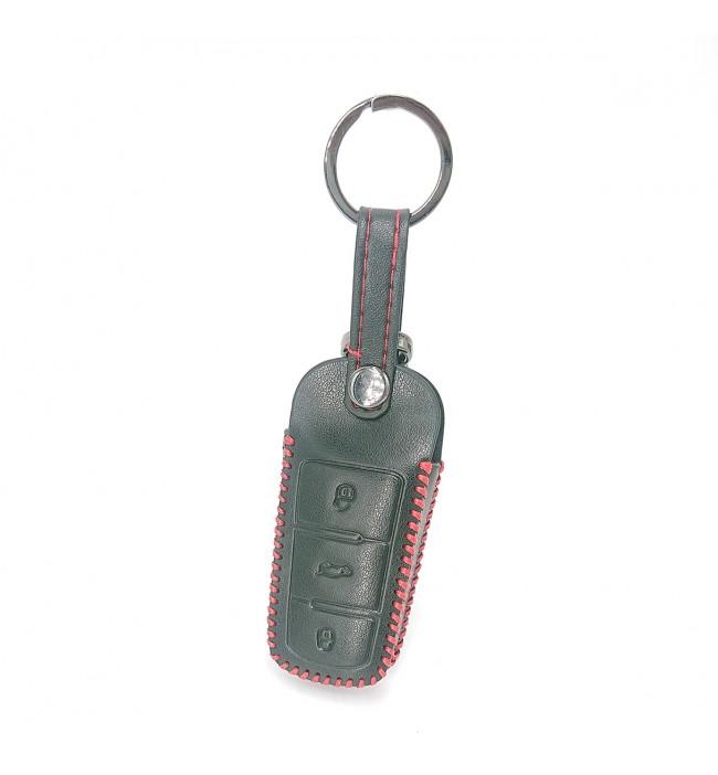 Husa din piele pentru cheie Volkswagen VW CC Passat B6 B7 Passat 3C CC