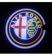 Set proiectoare cu logo Alfa Romeo pentru Giulietta Mito 159 147