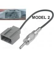 Adaptor antena radio DIN - Fakra Audi Fiat Mercedes Peugeot Seat VW