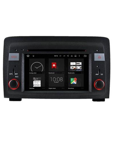 Navigatie Dedicata Fiat Idea cu android bluetooth