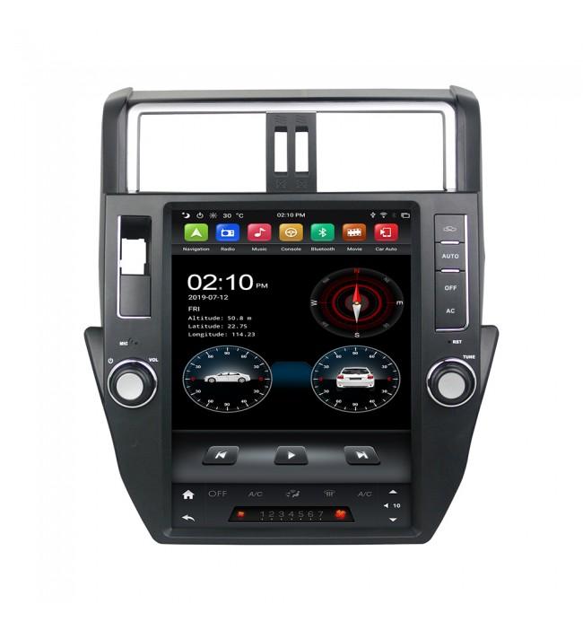 navigatie dedicata tip tesla pentru toyota prado j150 2009 2010 2011 2012 2013 cu android