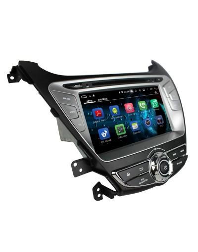 sistem navigatie dedicat cu android pentru hyundai elantra 2014 2015