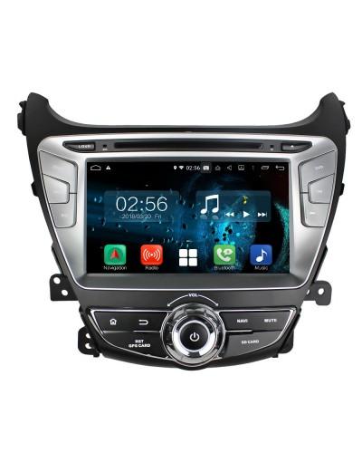 navigatie dedicata cu android pentru hyundai elantra 2014 2015