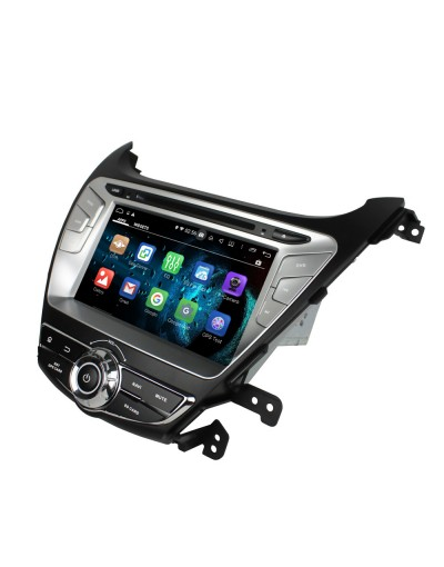 dvd navigatie dedicata cu android pentru hyundai elantra 2014 2015