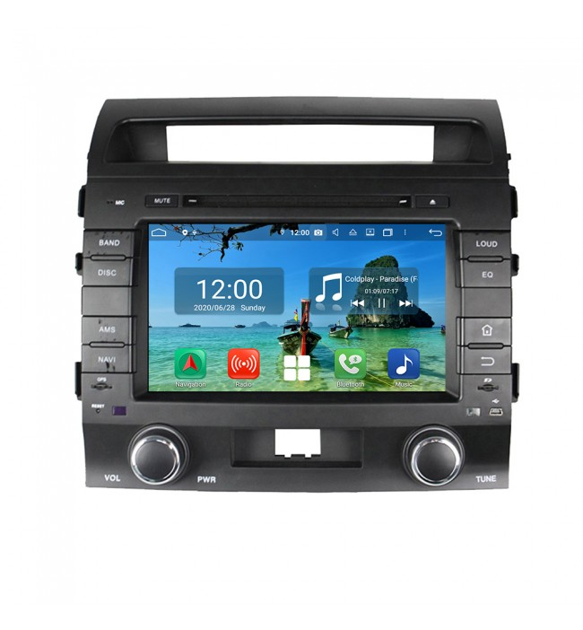 navigatie dedicata toyota land cruiser  2007 2008 2009 2010 2011 2012 2013  cu android