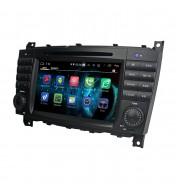 navigatie dedicata cu android pentru mercedes-Benz C Class(W203) 2004, 2005, 2006, 2007