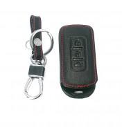 Husa din piele pentru cheie Mitsubishi Outlander Lancer 10 Pajero Sport ASX L200