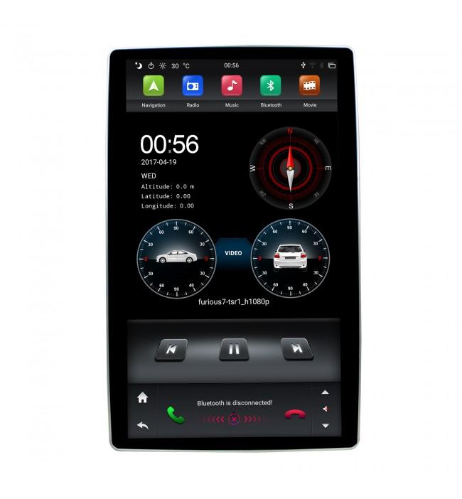 "DVD Navigatie universala 2DIN cu Android si ecran de 12.8"""