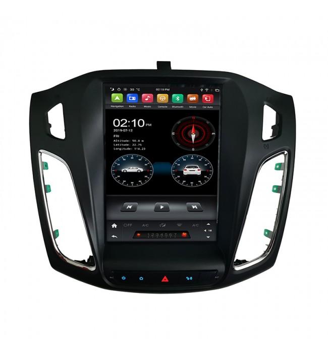 Navigatie dedicata tip Tesla pentru Ford Focus 2013 2014 2015 2016 2017 cu Android
