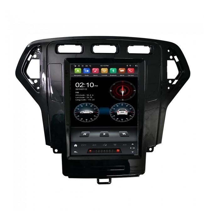 Sistem de navigatie dedicata cu Android tip Tesla pentru Ford Mondeo 2007 2008 2009 2010