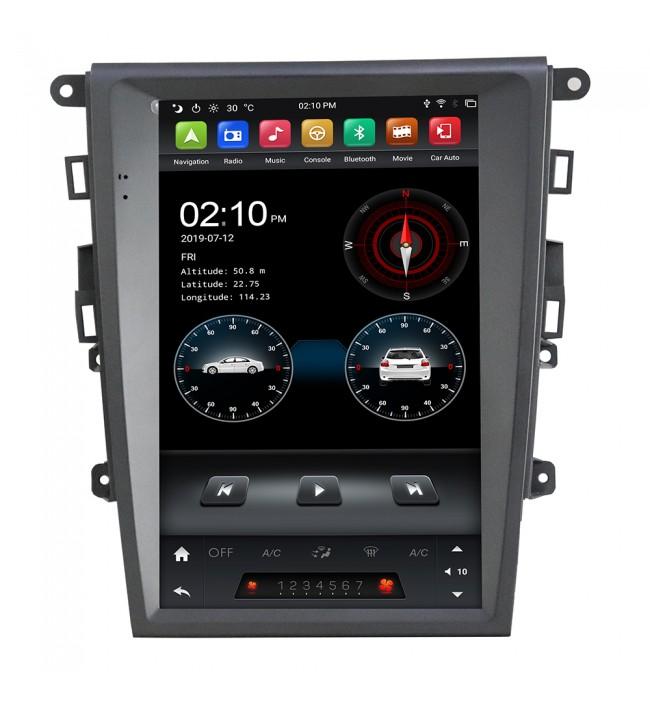 Navigatie dedicata cu Android tip Tesla pentru Ford Mondeo 2014 2015 2016 2017