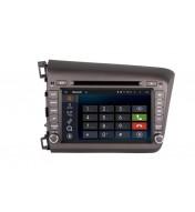 DVD Navigatie dedicata aftermarket pentru Honda CIVIC 2012 2013 2014