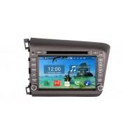 Navigatie dedicata aftermarket pentru Honda CIVIC 2012 2013 2014