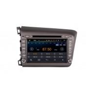 GPS Navigatie dedicata aftermarket pentru Honda CIVIC 2012 2013 2014