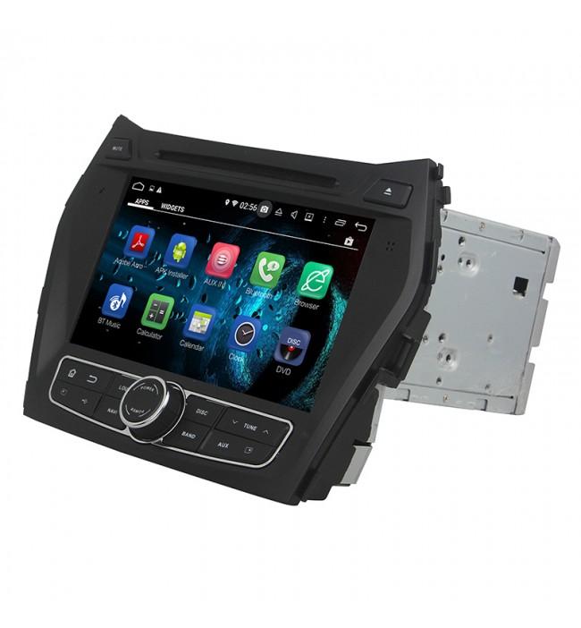 sistem de navigatie Hyundai IX45 Santa Fe 2013 2014 2015 2016 2017 cu Android