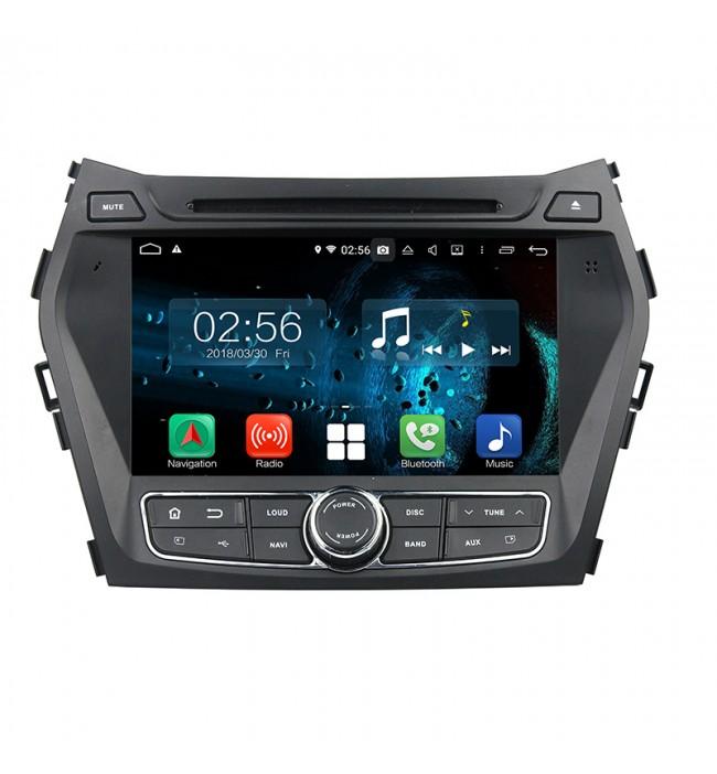Navigatie Hyundai IX45 Santa Fe 2013 2014 2015 2016 2017 cu Android