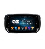 sistem de navigatie dedicata cu android Hyundai Santa Fe IX45 2018 2019 2020