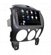 Navigatie dedicata cu Android si Butoane pentru Mazda 2 2010 2011 2012 2013 2014