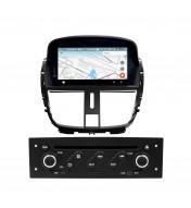 Navigatie dedicata cu Android pentru Peugeot 207 / 207CC 2007 2008 2009 2010 2011 2012 2013 2014 craiova