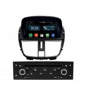 Navigatie dedicata cu Android pentru Peugeot 207 / 207CC 2007 2008 2009 2010 2011 2012 2013 2014