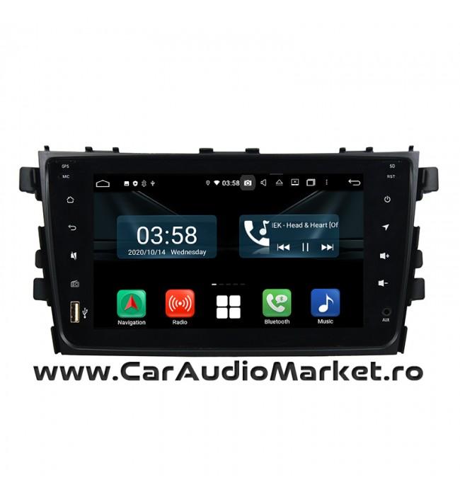 Suzuki Alto 2014-2018 Navigatie dedicata cu Android FullTouch fara butoane si DVD