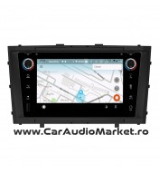 Navigatie dedicata cu Android FullTouch fara butoane si DVD Toyota Avensis 2009 2010 2011 2012 2013 2014 2015 timisoara