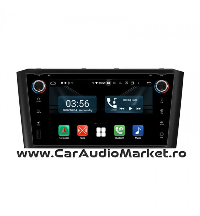Navigatie dedicata cu Android Toyota Avensis 2003 2004 2005 2006 2007 2008 2009