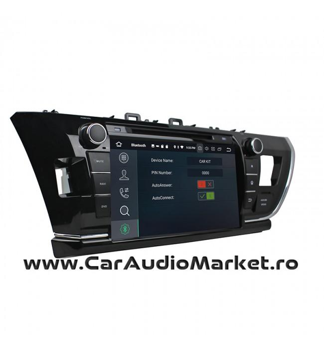 Toyota Corolla 2013 2014 2015 2016 Navigatie dedicata cu Android dvd craiova