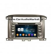 Toyota Land Cruiser 2003-2008 Navigatie dedicata cu Android