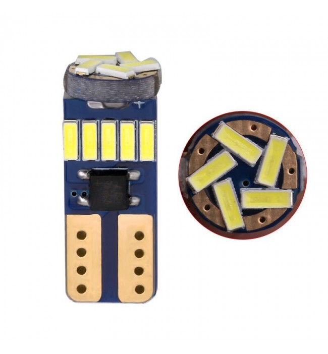 Led auto canbus model T10 15 smd