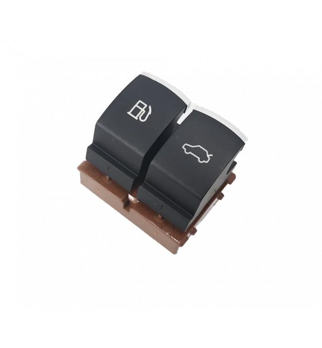 Butoane de eliberare portbagaj, rezervor combustibil cromat VW Passat B6 Jetta MK6 EOS CC 35D 959 903 3C0 959 903