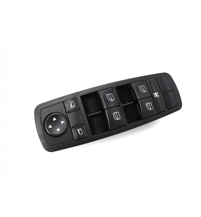 Mercedes W164 GL320 GL350 ML350 ML450 ML550 R350   Consola butoane electrice pentru controlul geamurilor 2518200110