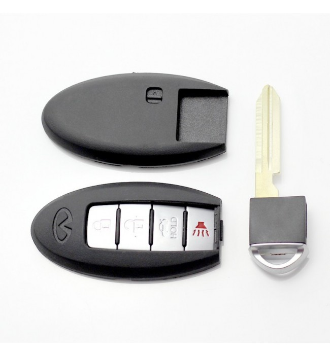 Nissan - Carcasa cheie 3+1...