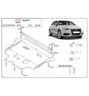 Audi A3 dupa 2012 - Scut motor metalic