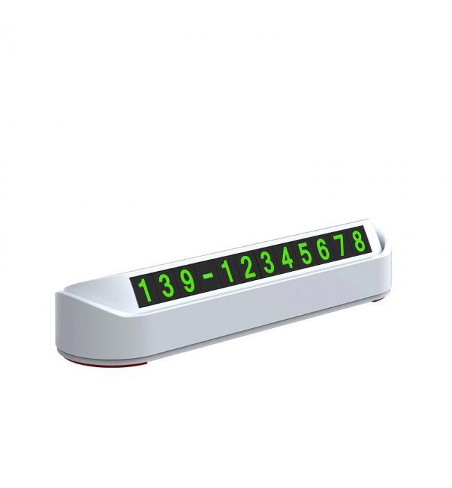 Suport numar telefon retractabil de pus in parbriz