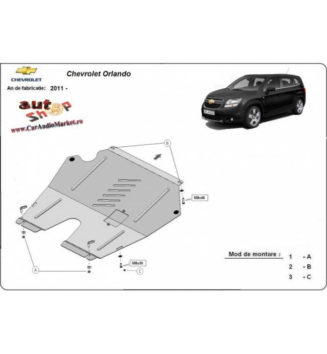 scut metalic pentru motor si cutia de viteze Chevrolet Orlando 2011 2012 2013 2014 2015 2016 2017 2018 2019 2020